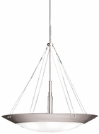 Kichler 3245NI Structures Contemporary Large Pendant Light in Brushed Nickel