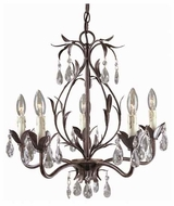 World Imports 8102562 Bijoux 5-light Rustic Style Chandelier Light