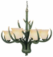 Trans Globe 7086 The Olde World 6-light Rustic Chandelier Light