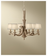 Feiss F26816MAW Blaire 6-light Rustic Chandelier