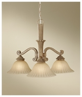 Feiss F26783MAW Blaire 3-light Rustic Downfacing Chandelier