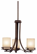 Kichler 1671OZ Hendrik Mini Chandelier in Olde Bronze