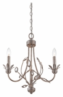 Quoizel WSY5003IF Wesley 18 Inch Diameter Italian Fresco Finish Mini Chandelier Lighting