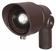 Kichler 16000BBR Outdoor 3W Bronzed Brass Finish 10 Degree Spot Accent Lighting