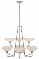 Quoizel PHO5009 Phoenix Large Two-tier 9-light Chandelier