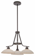 Quoizel PHO5103 Phoenix 3-light Dinette Downfacing Chandelier
