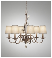 Feiss F26936ARS Priscilla 6-light Chandelier