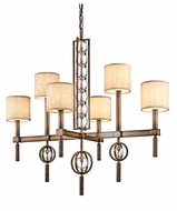 Kichler 42105CMZ Celestial Large 6-light Linear Chandelier