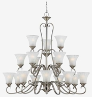 Quoizel DH5018AN Duchess 18-Light Chandelier in Antique Nickel