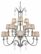 Quoizel KD5015MM Kendra 15+1-Light Chandelier