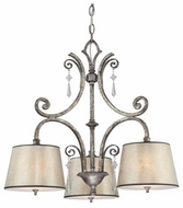Quoizel KD5103MM Kendra 3-Light Chandelier