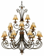 Quoizel SF5018MH Serafina 18-Light Chandelier