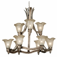 Kenroy Home 91149GSS Laurel 9-Light Chandelier