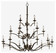 Kenroy Home 90068OB Hastings 21-Light Chandelier
