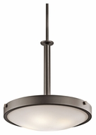 Kichler 42244OZ Lytham 20 Inch Diameter Olde Bronze Finish Pendant Lighting