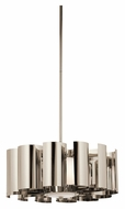 Kichler 42835PN Ziva 18 Inch Diameter Medium Polished Chrome Drop Ceiling Lighting