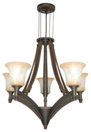 Nuvo 602444 Viceroy ES 5-Lamp Chandelier