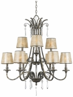 Quoizel KD5009MM Kendra Nine Lamp Chandelier