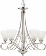 Quoizel DK5005IS Denmark 5-Light Imperial Silver Chandelier