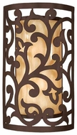Corbett 8512 Philippe Large Wall Sconce in Tahitian Bronze