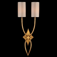 Fine Art Lamps 418850 Portobello Road 2-light Gold Wall Lighting Fixture