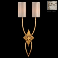 Fine Art Lamps 437450 Portobello Road 2-lamp Silver Wall Light Sconce