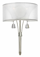 Fredrick Ramond 45602BNI Mime 1-lamp Wall Lighting Fixture with Shade