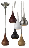 ELK 31340/1 Lindsey Small 4 Inch Diameter Halogen Mini Pendant Light With Shade Options