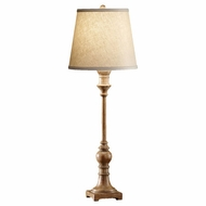 Feiss 10062MAW Alira Traditional Wooden Tall Table Lamp