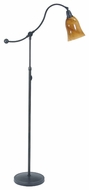 House of Troy HP700 Hyde Park Floor Lamp with Art Glass Shade