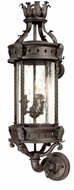 Troy B9632OBZ Los Feliz Traditional Outdoor Wall Lantern - 10 inches wide
