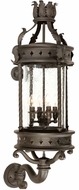 Troy B9633OBZ Los Feliz Traditional Outdoor Wall Lantern - 13.5 inches wide