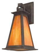 Troy B9882SBZ Lucerne Mission Outdoor Wall Lantern - 8 inches wide