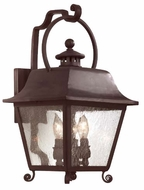 Troy B9442NB Bristol Traditional Outdoor Wall Sconce - 10.5 inches wide