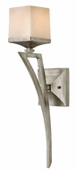 Fredrick Ramond 49190SLF San Simeon Silver Leaf Wall Lighting Sconce