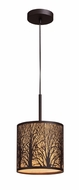 ELK 310731 Woodland Sunrise Contemporary Rustic Mini Pendant Light