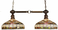 Meyda Tiffany 65827 Edwardian 2 Light Kitchen Island Ceiling Light