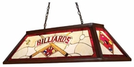 Landmark 700524 Placard Tiffany Billiard Light in Red