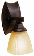Kichler 6406OZ Sections 10 Inch Tall Bronze Transitional Wall Lamp