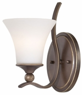 Quoizel SPH8701PN Sophia Traditional Bronze Finish Wall Mounted Lamp
