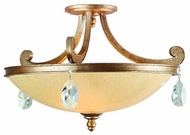 Corbett Roma Semi-Flush Ceiling Light