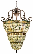 Kichler 65144 Elegant'e Tiffany Art Glass 54 Inch Tall Foyer Lighting Pendant - Extra Large