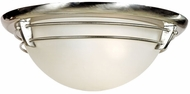 Quoizel NA1616BN New England Flushmount in Brushed Nickel