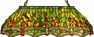 Meyda Tiffany 26547 Hanginghead Dragonfly Tiffany Oblong Ceiling Light
