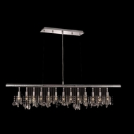 Elegant 3100D48C-RC Chorus Line Large 13-light Crystal Kitchen Island Lighting