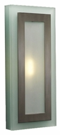 PLC 1474 Slim Wall Sconce in Satin Nickel