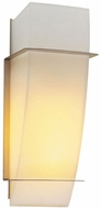PLC 21062-SN Enzo I Wall Sconce in Matte Opal Glass