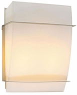 PLC 21064-SN Enzo-II 9½ inches wide Wall Sconce in Matte Opal Glass