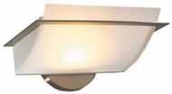 PLC 21065-SN Enzo-III 9.75 inches wide Wall Sconce in Matte Opal Glass