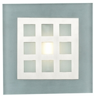 PLC 2316-SN Bali Wall Sconce in Satin Nickel